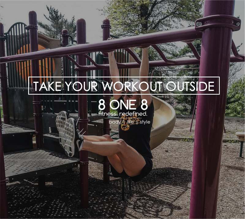 Take your workout outside 800